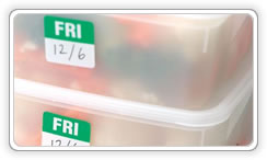Food labelling :: day labels